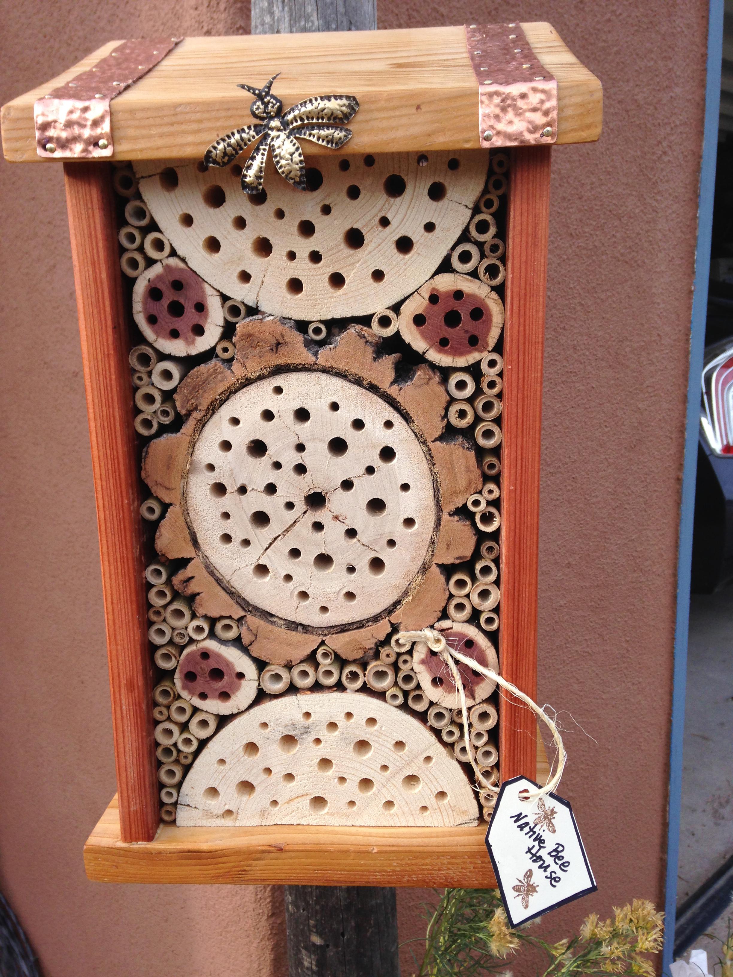 Native Bee Houses Zeebeeman S Blog